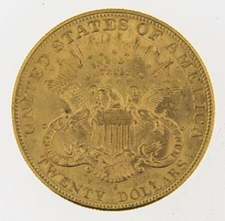 1905 s Twenty Dollar Liberty Head Gold Coin
