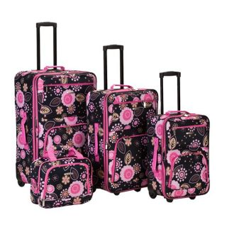 Rockland Artist Series 4 PC Luggage Set Pucci $580