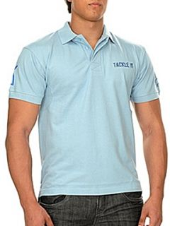 Raging Bull Tackle it polo shirt Blue