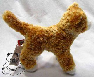 Cat Douglas Cuddle Plush Toy Stuffed Animal Orange Realistic BNWT