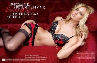 Victorias Secret Christmas Candice Swanepoel Adriana Lima Doutzen