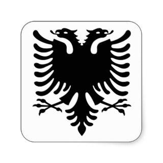 Albania, Shqiperia, Shqiponja, albanian, shqip Stickers