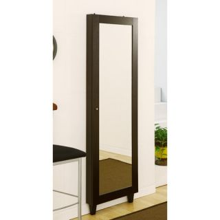 Claire Wall Mount Mirrors with Jewelry Armoire IDI 11422