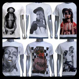 Lil Wayne Weezy T Shirt Rap Gang Star Pop Emo Los Jay Angeles Rock Sz