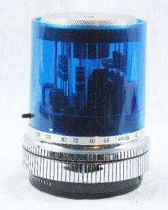 Vintage GE P2760 Blue Max Transistor Radio Police Light