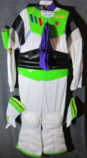 Buzz Lightyear Halloween Costume Light Up Wings 7 8 New