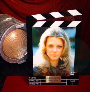 Fembot Box Bionic Woman Lindsay Wagner Signed UACC DVD