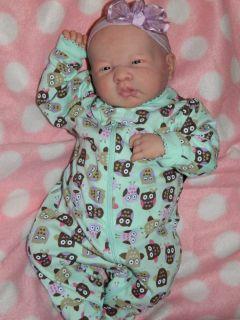 Brandaholic Babies lil moms  Reborn la newborn berenguer baby girl