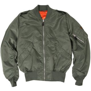 Alpha Industries Light Weight L 2B Air Force Military Flight Jacket