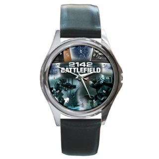 Battlefield 2142 PC Leather Wrist Watch High Quality