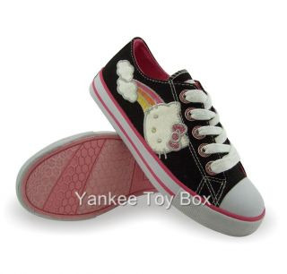Hello Kitty Little Girls Canvas Shoes Sizes 11 3