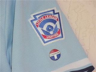 Umpire Softball Baseball Little League Athletic Light Blue Golf Polo
