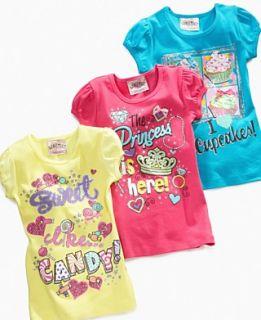 Beautees Kids Shirt, Little Girls Screen Tee