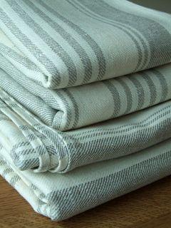Bath Towel 100 x 150 Cream 100 Linen Linum