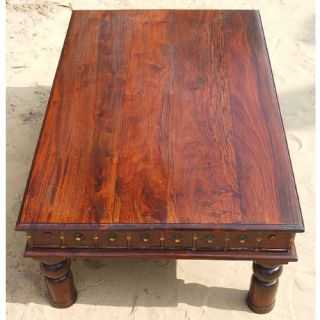 Mahogany Accent Cocktail Coffee Table Living Room Furniture New
