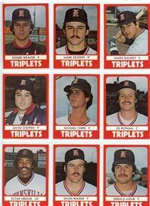 1980 Evansville Triplets Jim Gaudet Livingston Manor NY James