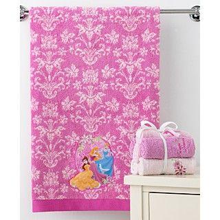 Disney Bath Towels, Disney Princesses 27 x 50 Bath Towel