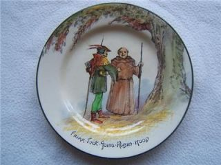 Royal Doulton Series Ware Robin Hood Side Tea Plate