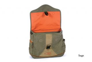New Fishpond Lodgepole Canvas Fly Fishing Satchel Bag Sage Free Tippet