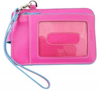 Lodis Audrey Pink Smart Phone Case Wallet Wristlet New