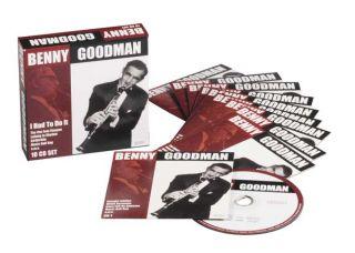 10 CD Box Benny Goodman Swing Bigband Jazz Neu OVP
