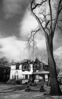 35mm Negs Frank Lloyd Wright House Gutted by Fire in Chicago IL 1976 6