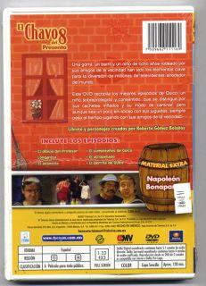 El Chavo Del 8 Presenta Lo Mejor de Quico Mexican Edition DVD