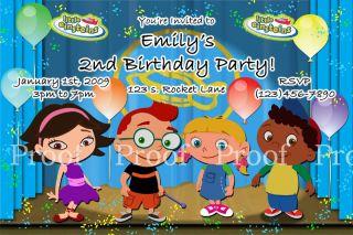 Little Einsteins Invitation Digital File Only