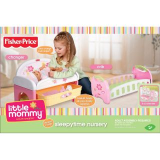 Fisher Price Little Mommy Baby Sleepytime Nursery Set