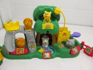 Fisher Price Little People Zoo Lot Q1 Prehistoric Dinosaur Cave Too