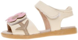 Little Blue Lamb Girls Kids Childrens Toddler Leather Sandals Shoes