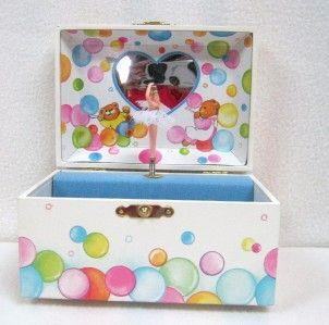 consideration is a Sankyo Little Girls Musical Trinket/Jewelry Box
