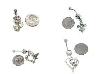 Fashion Body Jewelry Piercing Belly Button Navel Ring