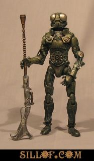 Steampunk Steam Star Wars Bounty Hunters Custom Action Figure Set by