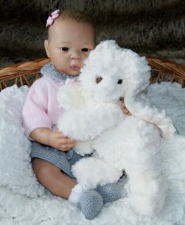 Liu San by A Stoete So Cute Reborn Baby Girl Bellababy