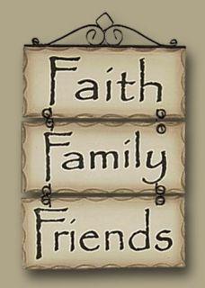 Live Laugh Love Faith Family Signs Rustic Plaque Home Decor