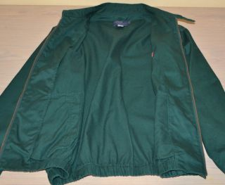 Lauren Green Full Zip Casual Cotton Jacket Boys Youth Large
