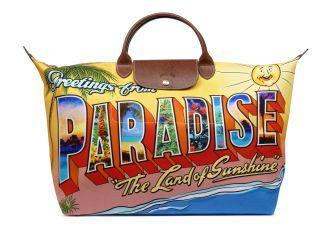 JEREMY SCOTT + LONGCHAMP ***PARADISE** travel bag Spring/SUMMER 2012