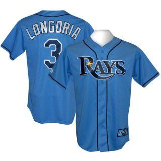 Tampa Bay Rays Evan Longoria Alternate Sewn Jersey M