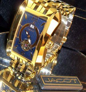 New Jacot Mens Visible Balance Watch $989 MSRP