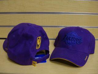 Los Angeles Lakers Tonal Purple Adjustable Hat Cap
