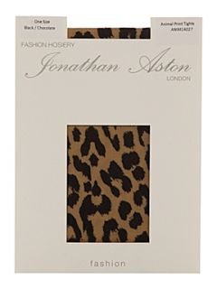 Jonathan Aston Animal print tights Black/Brown