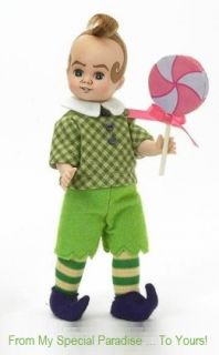The Wizard of oz Lollipop Munchkin Madame Alexander Doll 44535
