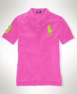 Polo Ralph Lauren Boys Pique Polo Shirt   Kids Boys 8 20