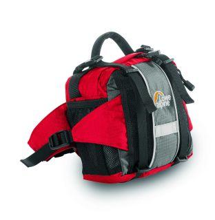 Lowe Alpine Peak Runner Belt Pack Venetian Red Slate Grey