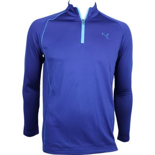 New 2012 Mens Puma 1 4 Zip Long Sleeve Polo Golf Shirt s M L XL Pick