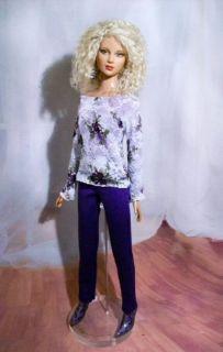 Lovelace Fashion Top Pants Mini Skirt for Tonner Tyler Friends