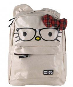 Loungefly Hello Kitty Nerd Face Backpack New