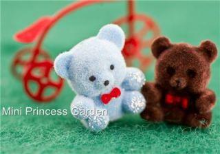 Dollhouse Miniature Kid Room Lovely Doll Bear Toy Gift