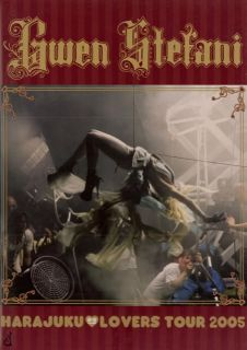 Gwen Stefani 2005 Harajuku Lovers Tour Concert Program Book